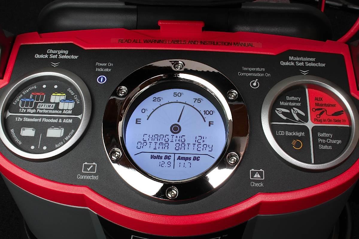 Tech Review: OPTIMA's Digital 1200 12-Volt Charger