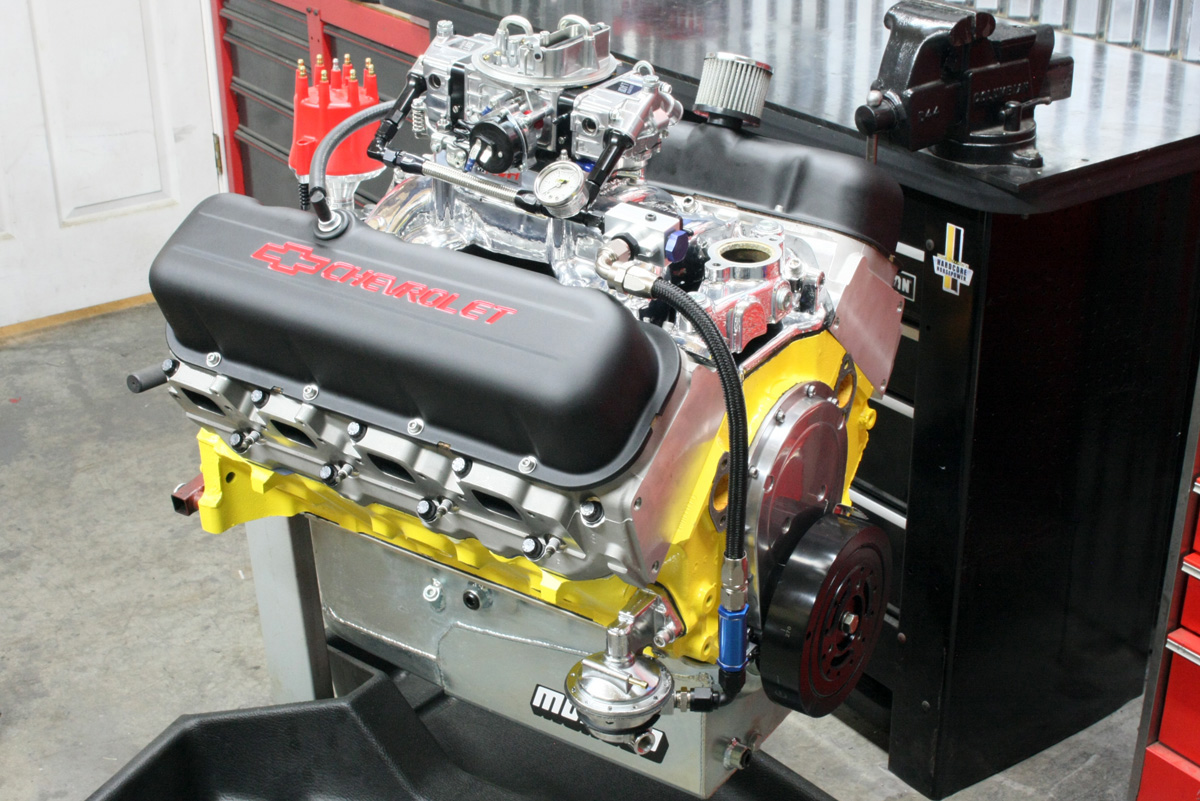 Hardcore Horsepower Builds 550-horse 87-octane Big-block On a Budget