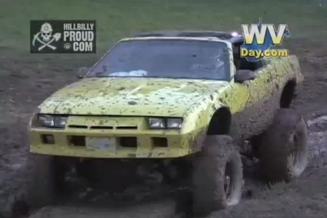 Video: Havoc In The Hills Mudding Event Includes 4x4 Camaro
