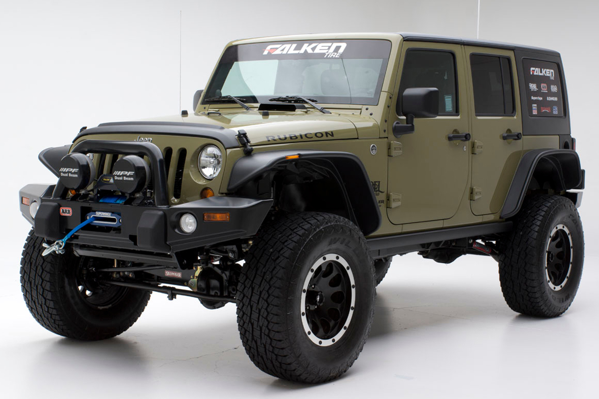 Enter For Your Chance To Win A Falken-Equipped 2013 Jeep Rubicon!