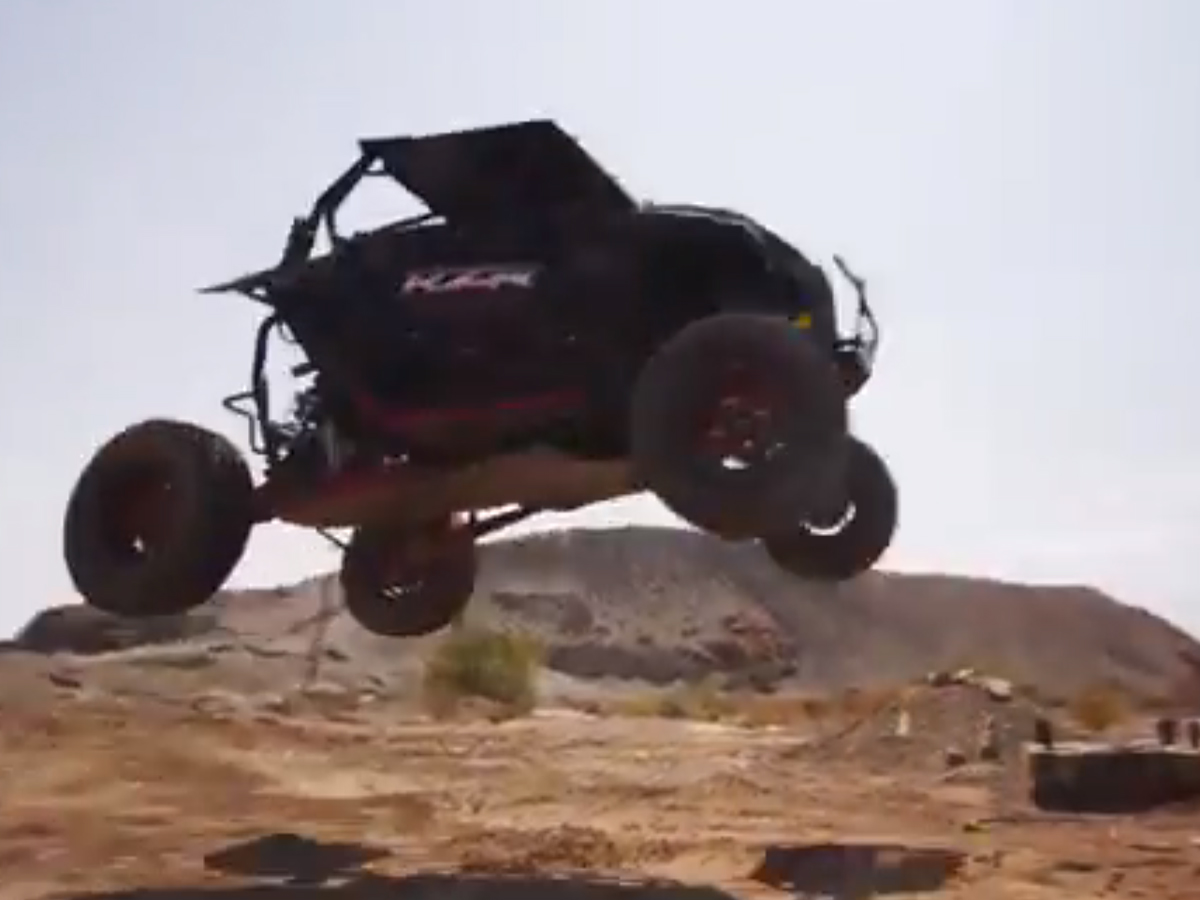 VIDEO: RJ Anderson, Polaris RZR XP 1000 Give You Mind Blowing Ride!