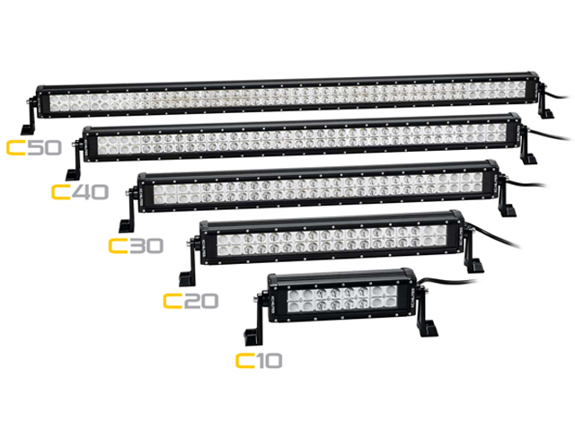 kc hilites u0026 39  new entry-level c-series light bars