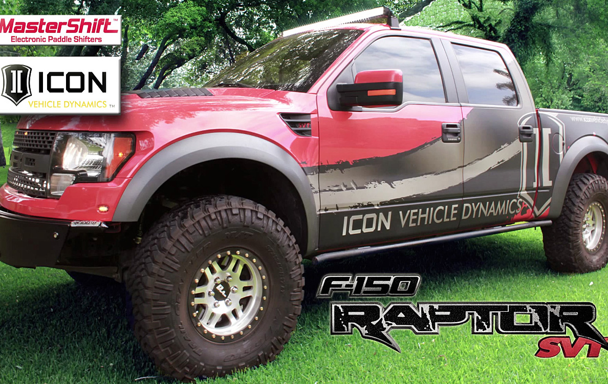 Video: Mastershift Paddle Shifters On A Ford Raptor