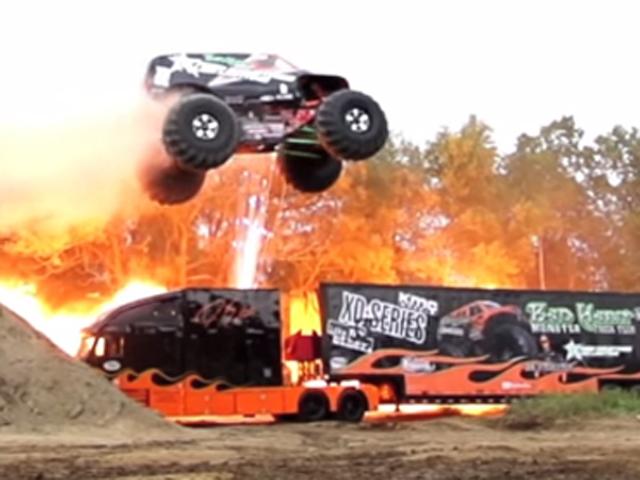 VIDEO: KMC Wheels Helps Bad Habit Monster Truck Set Guinness Record!
