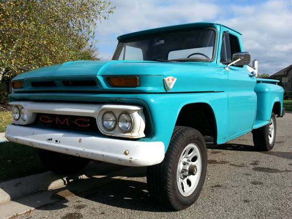 Hemmings Blog Find: '65 GMC 1/2-Ton 4x4 Pickup, Love For Sale! - Off Road Xtreme
