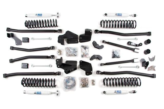 "BDS Suspension Boosts 2014 Jeep JK/JKU 2"" to 6.5"" With New Lift Kits"