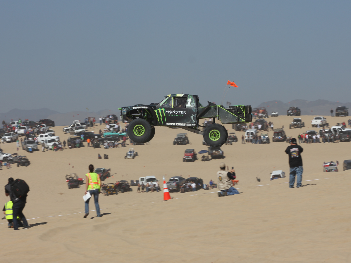 VIDEO: Four-Wheelers Fly At The 2013 Huckfest In Oceano Dunes, CA
