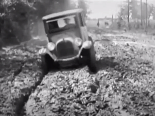 VIDEO: Mud Bogging Not Exactly A New Sport!