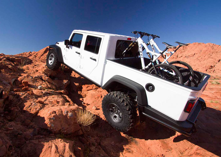 Diesel Jeep Wrangler >> AEV Double Cab Brute Rocks The Aftermarket With OE Quality - Off Road Xtreme
