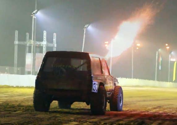 Video: Sand Drags With Crazy Engine Combos In The UAE!