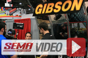 SEMA 2013: Gibson Performance Exhaust Systems Boost HP And Torque