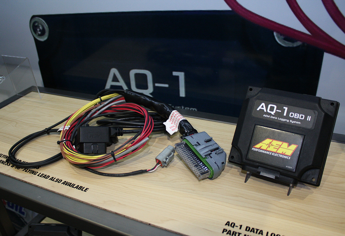 SEMA 2013: AEM's New AQ-1 OBD II Logger And Water/Meth Controllers