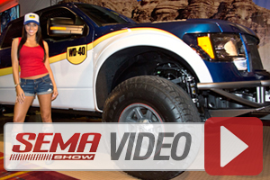 SEMA 2013 VIDEO: WD-40 Benefits Kids With Foose-Designed 2013 F-150