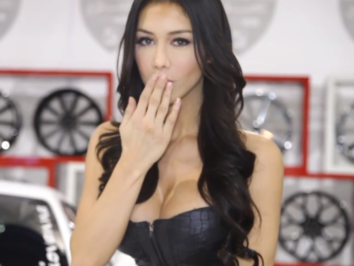 VIDEO: The Hottest Girls, Trucks, Cars And Goodies From SEMA 2013
