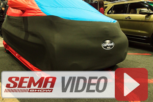 SEMA 2013: Covercraft Carhartt Seat Covers, Cargo Liner and Car Band
