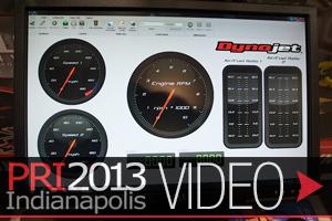 PRI 2013: New Dynojet DynoWare RT Dyno Electronics and Software