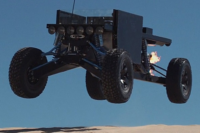 Custom Built 500 HP Reboot Buggy An Off-Road Sight To Behold