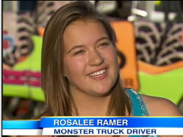 VIDEO: Teenage Girl Breaks Barriers Behind Wheel Of Monster Truck