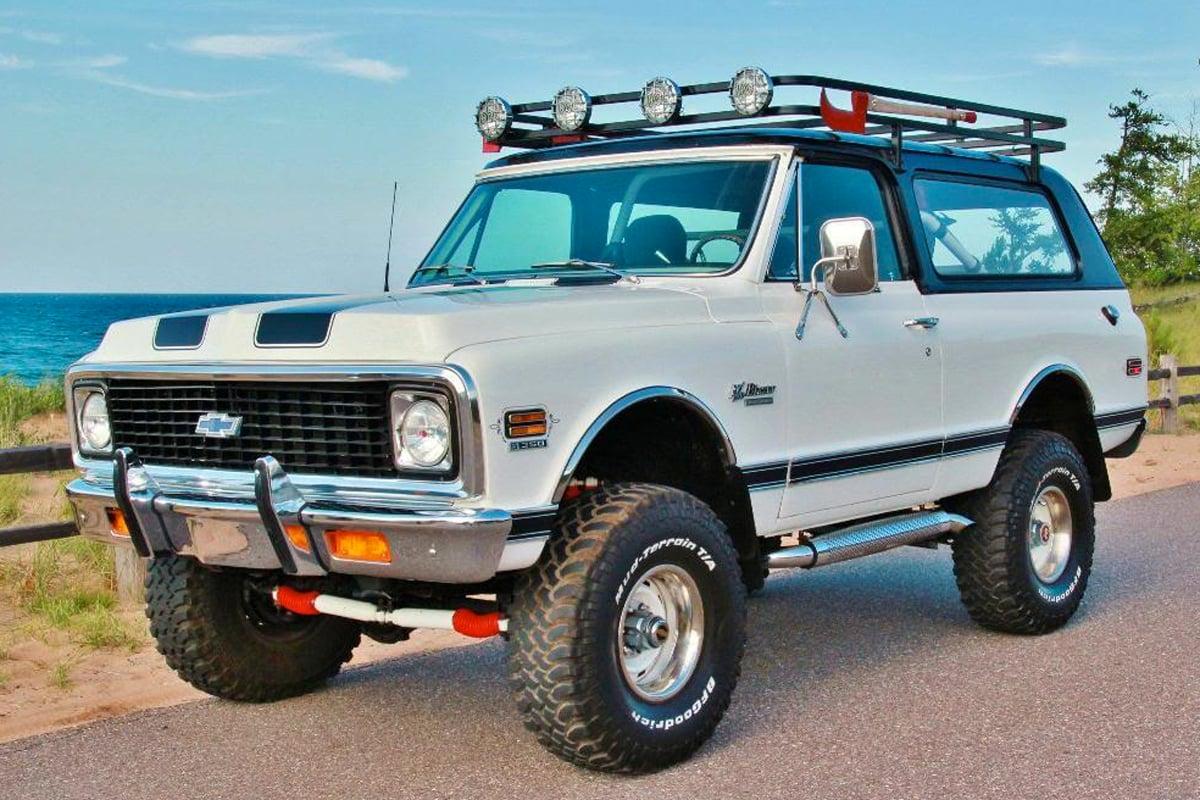 Vintage Monday 69 To 72 Chevy K5 Blazer Off Road Xtreme
