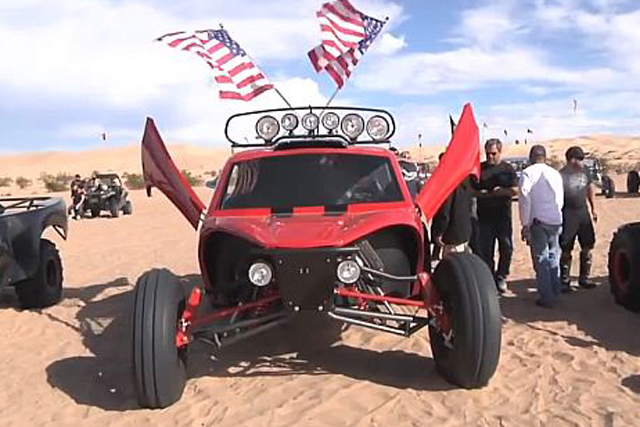 VIDEO: Race Champ BJ Baldwin Meets 1,300 HP Buckshot X2R At Glamis!