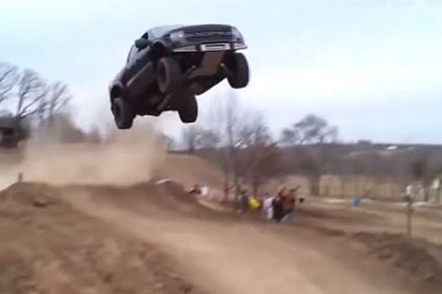 Video Truck And Car Jump Compilation Inspired By Dukes Of Hazard