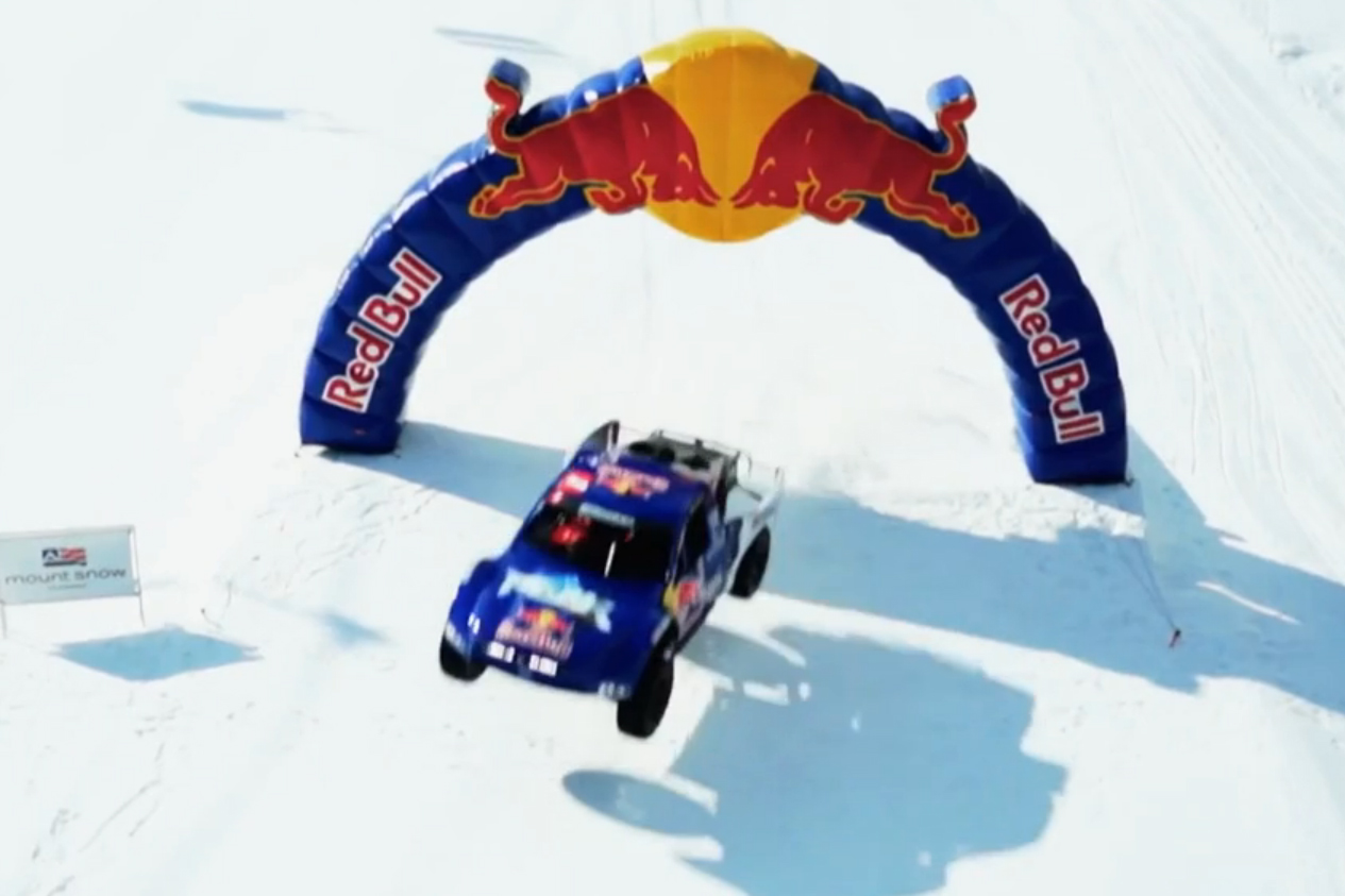 VIDEO: Off-Road Racing In Snow? That's Red Bull Frozen Rush, Baby!