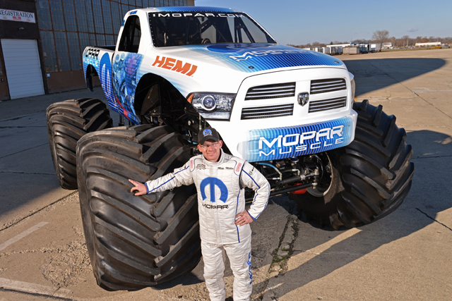 VIDEO: Mopar Muscle First OE Monster Truck In A Decade Debuts