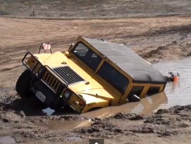 VIDEO: Having A Bad Day? This Should Cheer You Up - Hummer Sunk!