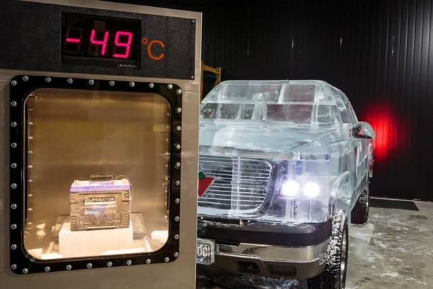 """VIDEO: Canadian Tire """"Ice Truck"""" Starts Even In Freezing Weather"""