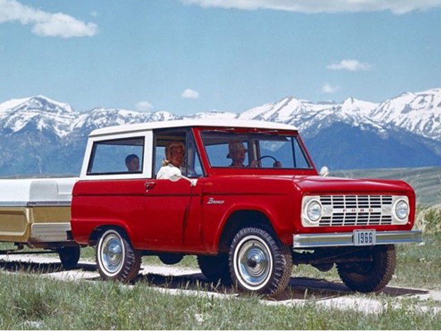 Vintage Monday: The Early (1966 to 1977) Ford Bronco