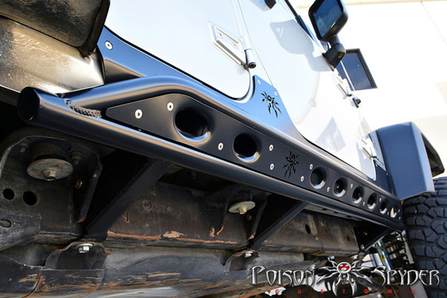 VIDEO: Poison Spyder Tech Series - Frame-Mounted JK Rocker Knockers