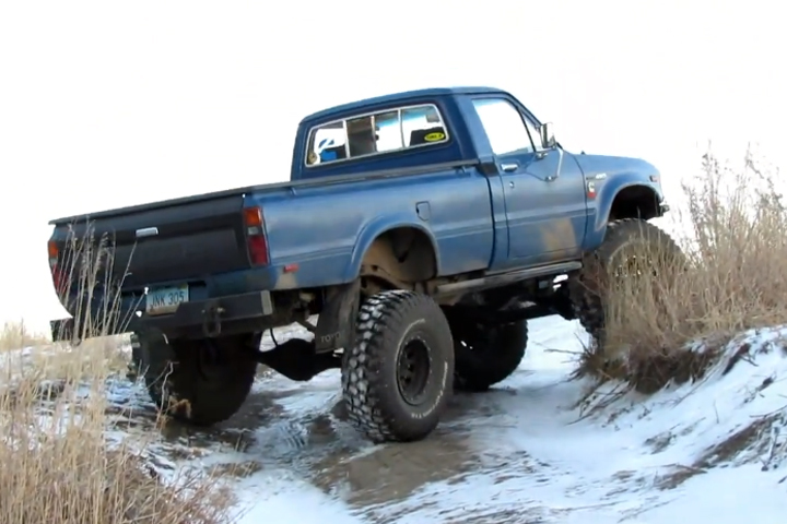 VIDEO: Cummins-Converted Toyota Pickup Is The Ultimate Off-Roader
