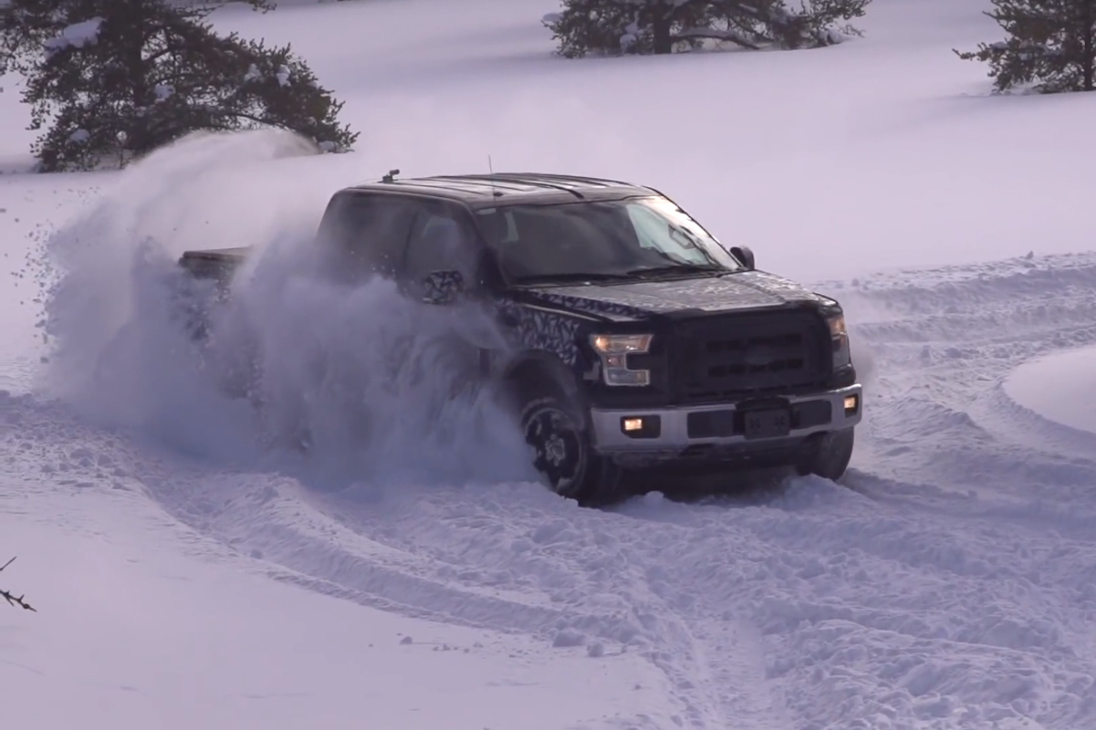 Video: 2015 F-150 Cold Weather Testing And Snow Drifting