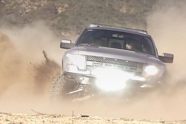 VIDEO: Addictive Desert Designs' Shelby Raptor In Action