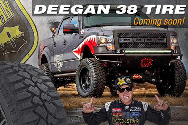Fuel Trophy Wheels >> New Mickey Thompson Deegan 38 Off-Road Tire Available In ...