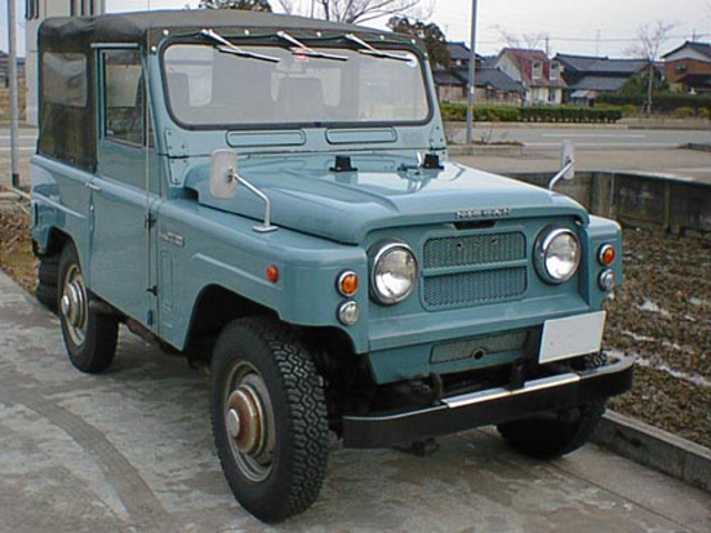 Vintage Monday: First And Second-Gen Nissan Patrol - Tough ...
