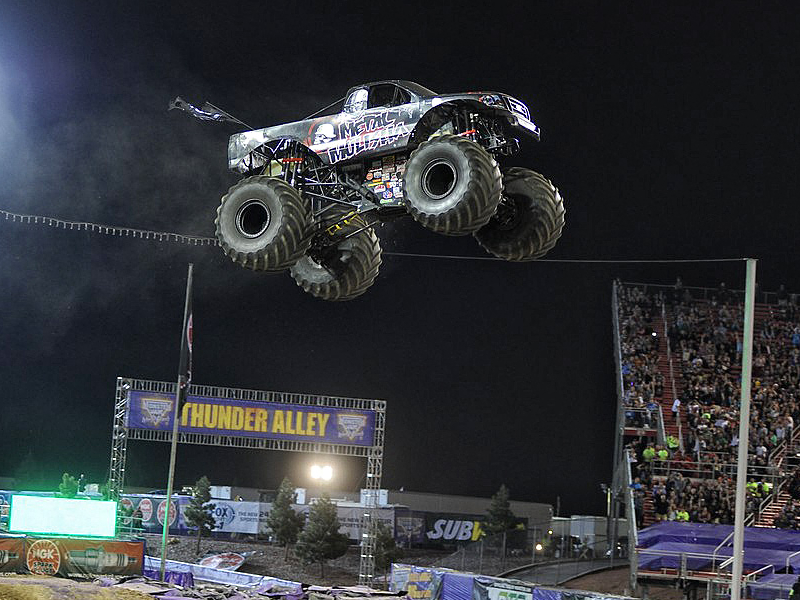 VIDEO: Todd LeDuc Takes Metal Mulisha Monster Truck To New Heights