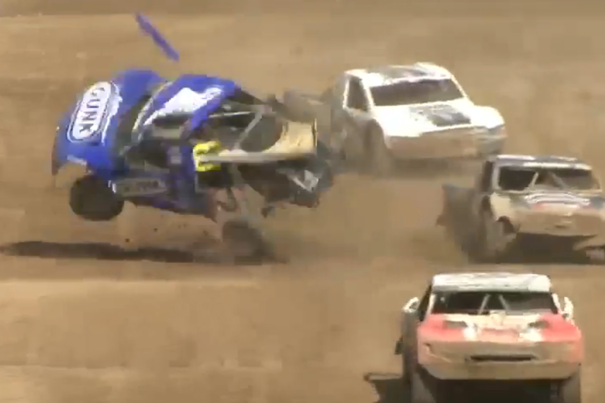 VIDEO: Arie Luyendyk Jr. Hopes To Make Next TORC Race After Crash