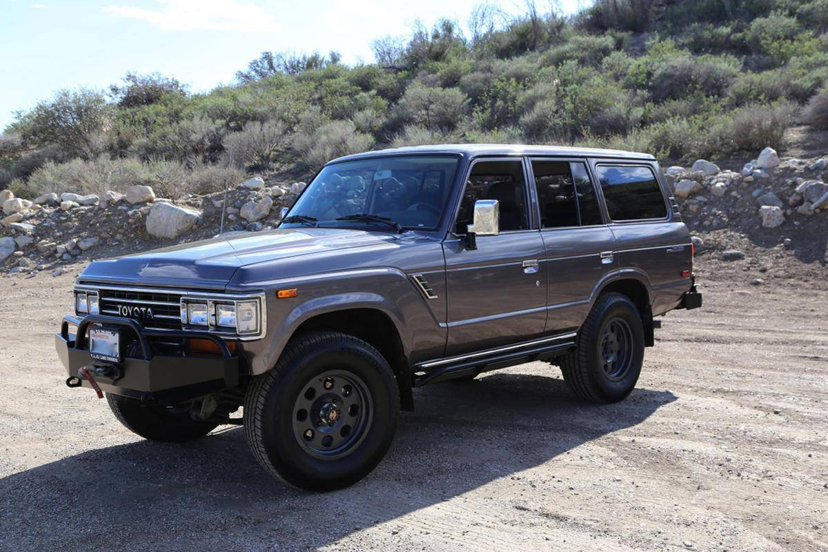 Hemmings Find: 1988 Toyota Land Cruiser Turbo Diesel
