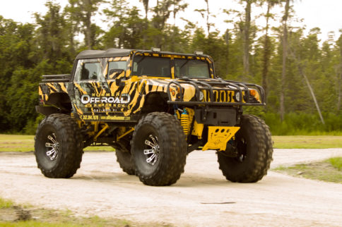 VIDEO: Rent A H1 Hummer And Go Mudding In Orlando, Florida!
