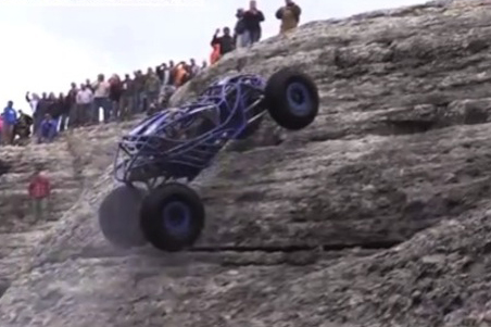 "VIDEO: Bobby Tanner And His Rock Bouncer Try ""Viagra"" Hill Climb"