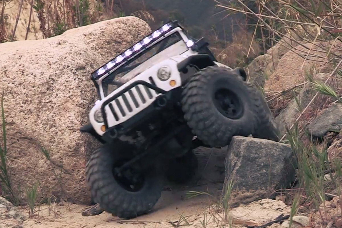 VIDEO: Rigid Industries Releases RC Jeep With Working LED Lights
