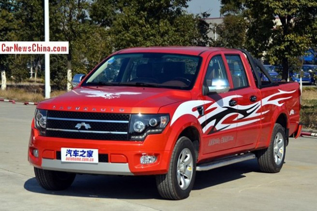 Chinese F 150 Knock Off Debuts At Beijing Auto Show Off