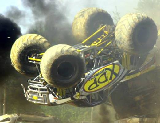 Video: XDP's Monster Truck Does A Back Flip!