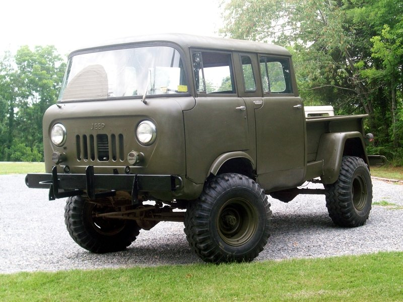 Vintage Monday The Jeep Willys Forward Control Line