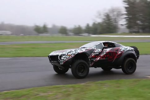 Video: Autocrossing a Rally Fighter Looks Like a Blast!
