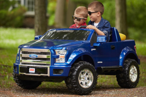 "VIDEO: The All New 2015 Ford F-150 From ""Power Wheels"" Debuts"