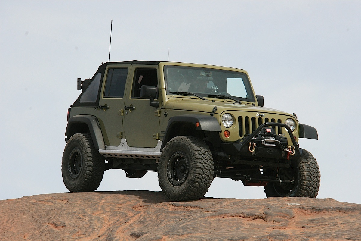 The Poison Spyder Brawler Lite Front Bumper, RockBrawler II Rear Bumper,  And Brawler Rockers Not Only Provided Our 2013 Jeep Wrangler JKU Project  Sgt. ...