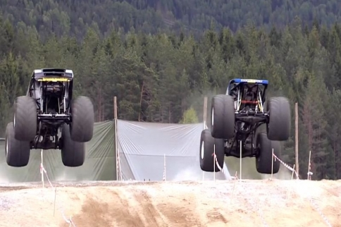 VIDEO: Americans Aren't The Only Ones Who Love Monster Trucks