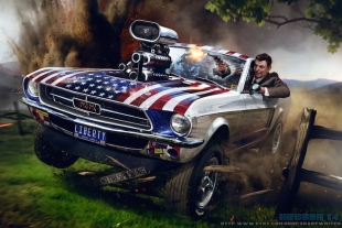 Ronald Reagan The Liberator Is The Ultimate Presidential Artwork